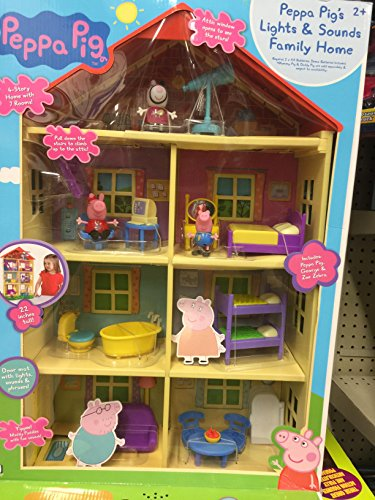 Home Pig (Peppa pig's lights and sounds family home)