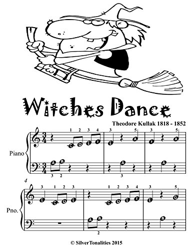 Witches Dance Beginner Tots Piano Sheet Music