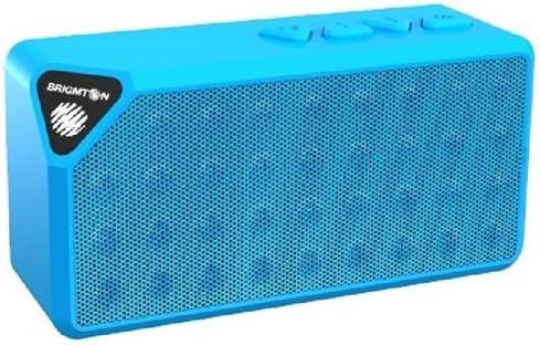 Brigmton BAMP-610-A - Altavoz portátil Bluetooth (reproducción de mp3, funcionamiento batería)