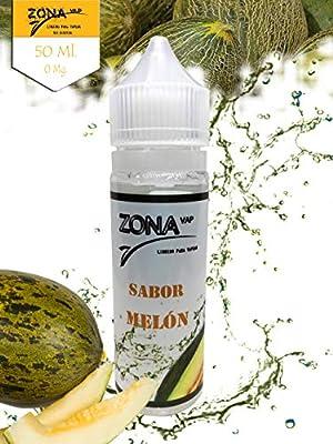 Zona Vap Melón 50ml E líquido Liquido Vaper Para Cigarros ...
