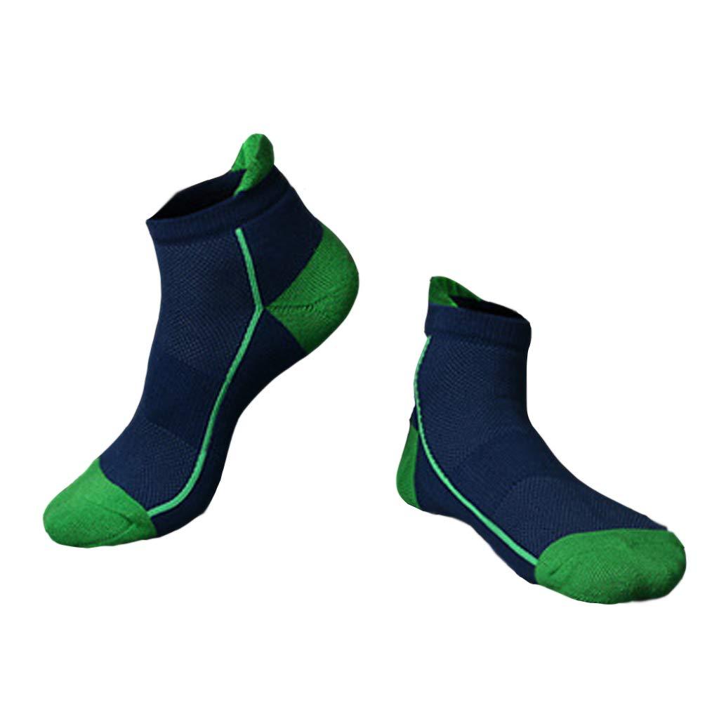 ZHAO YING Towel Bottom - Sports Socks - Mesh - Terry Socks - Breathable - Sweat - Basketball Socks (Color : Blue)