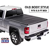 Gator ETX Soft Tri-Fold Truck Bed Tonneau Cover | 59109 | Chevy Silverado/GMC Sierra 5.5' bed, 2014-18, 2019 Limited/Legacy | MADE IN THE USA