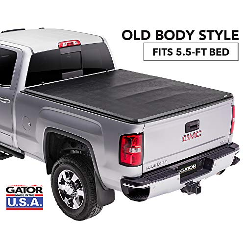 Gator ETX Soft Tri-Fold Truck Bed Tonneau Cover | 59109 | Chevy Silverado/GMC Sierra 5.5' bed, 2014-18, 2019 Limited/Legacy  | MADE IN THE USA