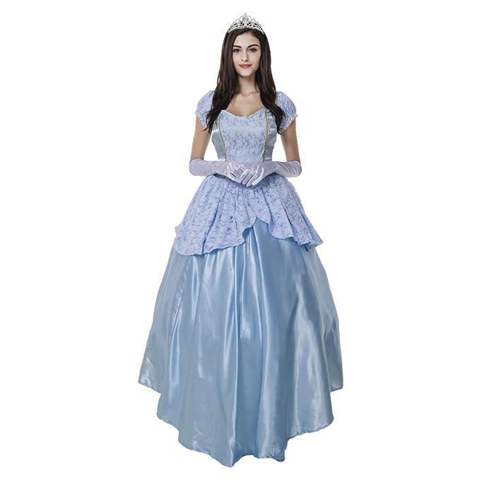 xiemushop Disfraz de Princesa para Mujer Cosplay Reina Traje Medieval Halloween  Carnaval Talla XL  Amazon.es  Ropa y accesorios 7ebf41082c6