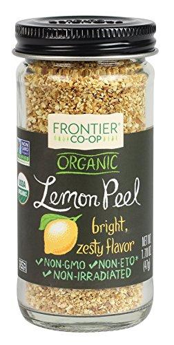 Frontier Natural Products Lemon Peel, Og, Granules, 1.7 oz