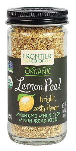 Frontier Natural Products Lemon Peel, Og, Granules, 1.7 oz ()