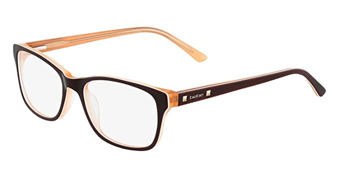 BEBE Eyeglasses BB5075 210 Topaz 52MM at Amazon Men\'s Clothing store: