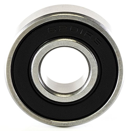 Challenge 6201-2RS-C3 Single Row Deep Groove Radial Ball Bearing, C3 Clearance, Steel Cage, 12 mm Bore ID, 32 mm OD, 10 mm width, Double Sealed, 10  mm width, 32  mm Length, 12 Steel