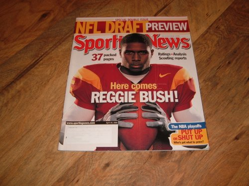 (Sporting News, April 28, 2006 issue-Reggie Bush-USC-Special Double Issue, NFL Draft)