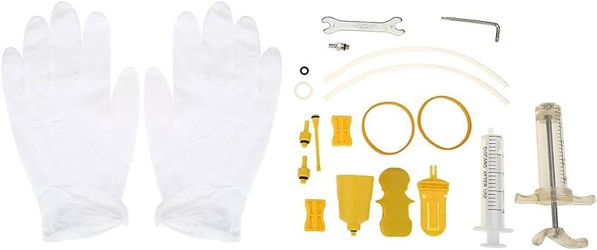 Fahrrad Entlüftungskit Bleed Kit für Shimano Tektro Magura MTB Scheibenbremse