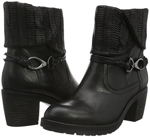 Bottes Be Motardes 25309 Natural 001 Femme black Noir qAAFEnrRx