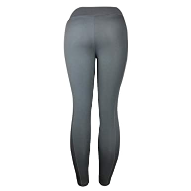 SHOBDW Pantalones Mujer Sólido Push Up Leggings Medias Cintura ...