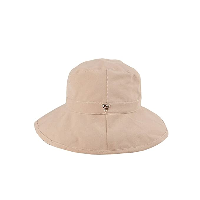 42eb3e89382 Ursa Minor Outdoor Sun Protection Hat Wide Brim Bucket Hats UV Protection  boonie Hat (Biege) at Amazon Men s Clothing store