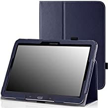 MoKo Samsung Galaxy Tab 3 10.1 and Galaxy Tab 4 10.1 Case - Slim Folding Cover Case for Samsung Galaxy Tab 3 10.1 and Tab 4 10.1 Inch Android Tablet, INDIGO (With Smart Cover Auto Wake / Sleep)