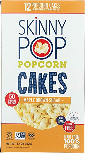 Price comparison product image Skinny Pop (NOT A CASE) Popcorn Cake LG Maple Brown Sugar