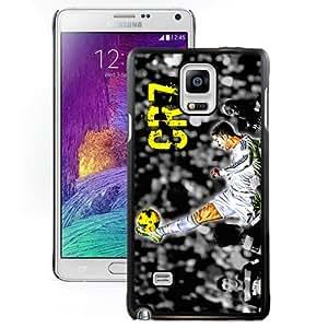 Unique DIY Designed Case For Samsung Galaxy Note 4 N910A N910T N910P N910V N910R4 With Soccer Player Cristiano Ronaldo 02 Cell Phone Case
