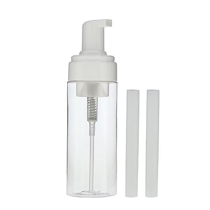 Baosity 150ml Vacío Recargable Dispensador Bomba Botellas Loción Cosmética Champú de Maquillaje Limpiador Facial Contenedores Espumantes