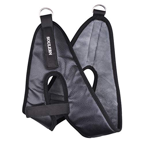 Cervical Traction Device Kit Head Halter for Neck Pain Relief, Door Frame Head Halter Neck Traction Stretcher Set