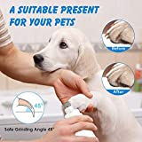 Pet Dog Nail Grinder Quiet with LED Light, Upgraded