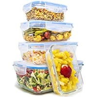 Royal 10-Piece Glass Food Storage Containers Set