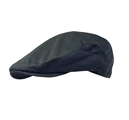 ce5c30c49fe Failsworth Hats Wax Flat Cap Earland Brothers - Navy Blue Wax ((56cm - 6