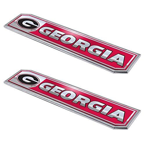 Team ProMark Georgia Bulldogs Premium Truck Emblem 2pk - - Outlets Premium Georgia