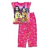 Ever After High Girls Pink Poly Pajamas (M (7/8))