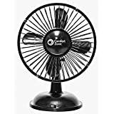 Comfort Zone 6 Oscillating Battery/USB Fan - Lot of 6