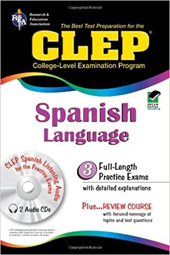 Book Best Test Preparation for the CLEP Spanish Language by Lisa J. Goldman (1998-12-24)