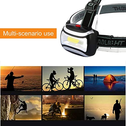 Canaan/_Z Rechargeable LED phare lampe de poche Lampe frontale camping lampe de poche de p/êche
