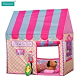Pericross Kids Playhouse Large Play Ttents (Pink)