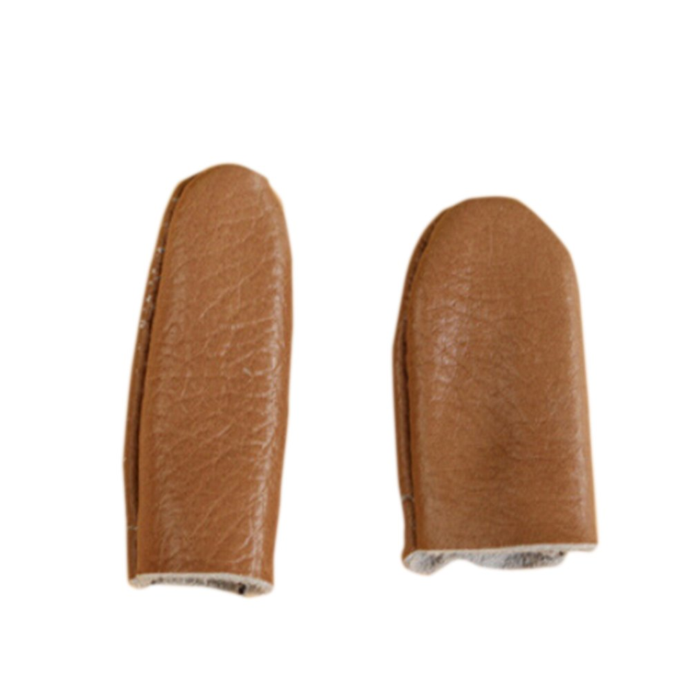 2pcs Needle Felting Leather Needle Felting Finger Protectors