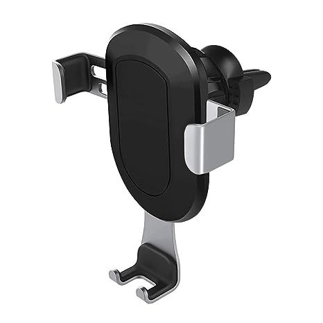 MoKo Soporte de teléfono móvil para coche, Gravity Auto Lock Soporte de teléfono de coche