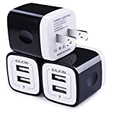 Best Charger Adapters With Quick Charging - USB Wall Charger, Charger Adapter, Ailkin 3-Pack 2.1Amp Review