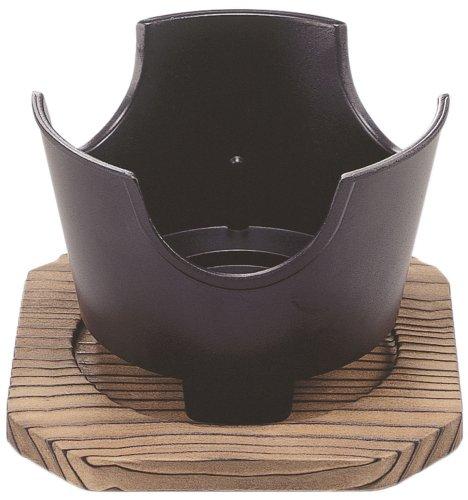펄금속 스트 롱 마블 이시마루형 곤로 12cm 목받침대 첨부(부) H-5370/ 그릴
