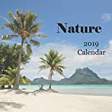 Nature 2019 Calendar: Includes Bora Bora, Moorea, French Polynesia, Big Island Hawaii, Flowers & Birds - Monthly Calendar Book 2019