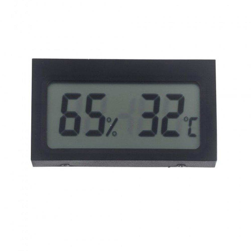Sharplace Mini Digital Thermometer Hygrometer Messgerä t mit LCD Display
