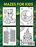 Mazes For Kids Ages 4-8: Maze Activity Book