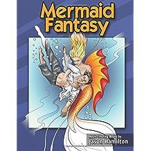 Mermaid Fantasy: Adult Coloring Book