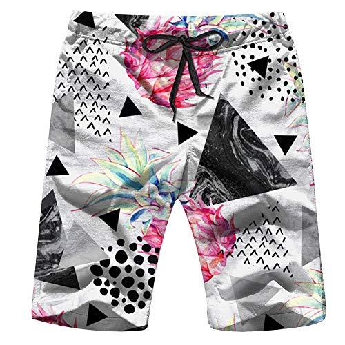 Halloween Girls Boys Helloween Mens Beach Pants 3D Printed Casual Fashion Adjustable Beach Board Shorts XXL]()