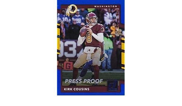 ff2d990a1 Amazon.com  2017 Donruss Press Proof Blue  288 Kirk Cousins NM-MT Redskins   Collectibles   Fine Art