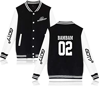 GOT7 Keep Spinning Baseball Jacket Bambam Yugyeom JB JinYoung Mark ...