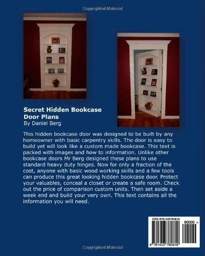 Build your own secret bookcase door complete guide with for Build your own bookshelves plans