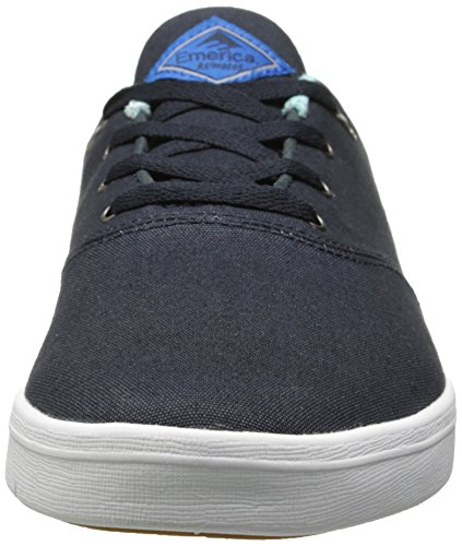 Chuh Cruiser bianco Reynolds Uomo Lt Blu Pattini Skateschuhe The Emerica 6qgFwE