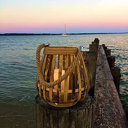 515XnjyY7WL._SS450_ Nautical Lanterns and Beach Lanterns