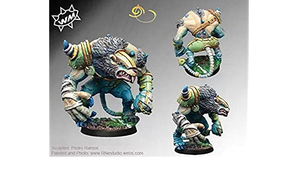 Willy Miniatures Rat Ogre: Amazon.es: Juguetes y juegos