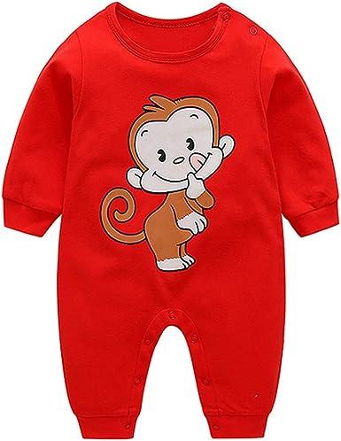 Vestido de niño de Manga Larga de algodón otoñal, Pelele Jumpsuit ...