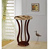 Accent Marble Top Plant Stand