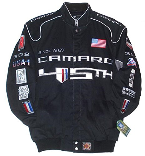 - Chevrolet Camaro Racing Embroidered Cotton Jacket 45th Ann Size 4XL