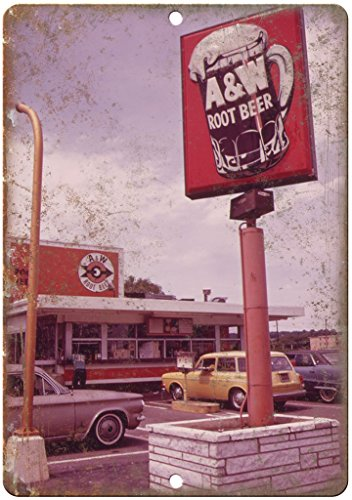 A&W Root Beer Vintage Drive-in Photo Ad 10